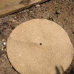 """Jute Tree Spat Mulch Mat - 16""""/ 40cm"""